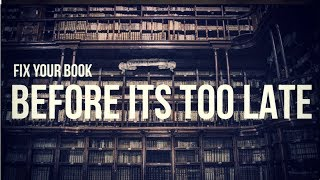 Fix The Contents Of Your Book Before It Gets Too Late