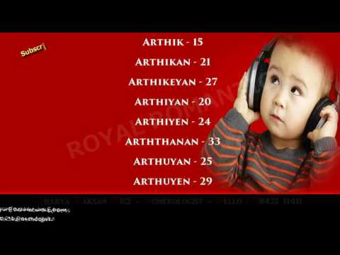 BOY BABY NAME STARTING WITH A 9- 9842111411 - HINDU INDIAN TAMIL SANSKRIT  MODERN LORD GOD NAME