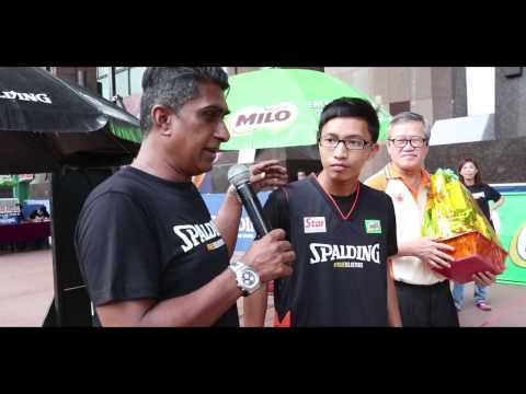 Spalding 3on3 Basketball Challenge  - Berjaya Times Square