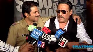 Interview of Anil Kapoor and Jackie Shroff for film Shootout At Wadala