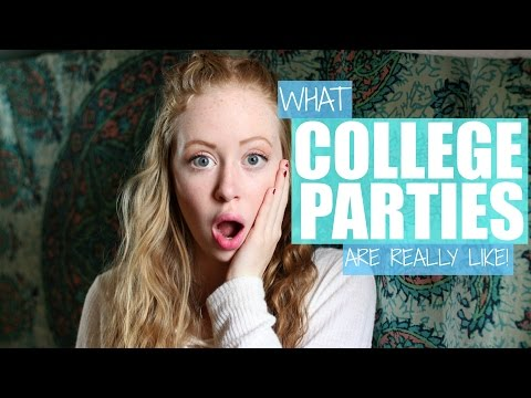WHAT COLLEGE PARTIES ARE REALLY LIKE | Justali