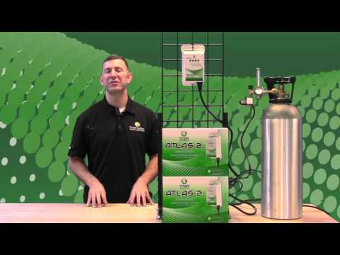 Titan Controls – how to operate the Atlas 2 CO2 Controller