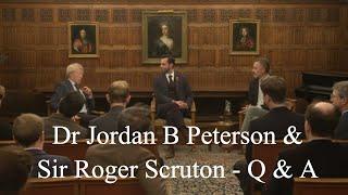 Download Q & A - Sir Roger Scruton & Dr Jordan B Peterson - Apprehending the Transcendent Video
