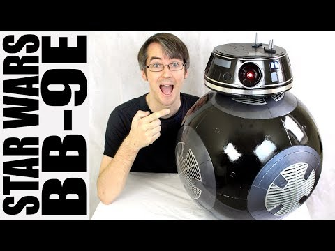Fan-Built STAR WARS BB-9E Droid from The Last Jedi #1 | XRobots