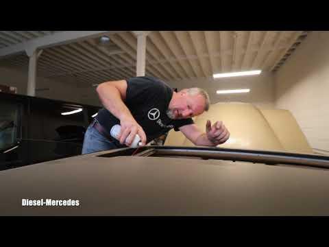 Mercedes W123 Power Sunroof