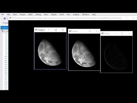 02 Intensity Transformation & Spatial Filtering OpenCV C++