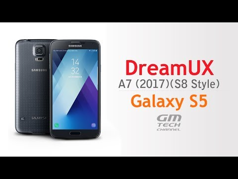 DreamUX ROM for Galaxy S5 (S8 Style)