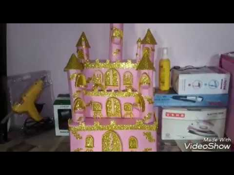 build a cardboard castle fort or palace