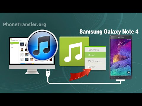 How to Sync Music, Playlist from iTunes to Samsung Galaxy Note 4 on Mac OS X