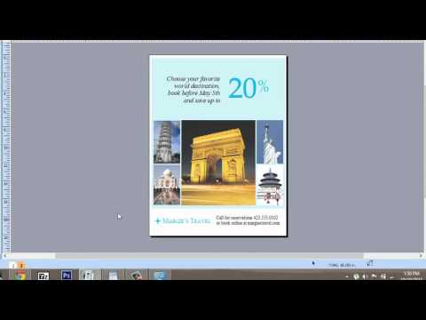 How to Make a 2-Sided Layout on Publisher : Microsoft Graphic Design Programs