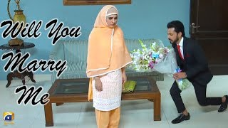 Will You Marry Me ..... | Fatima Effendi | Bilal Qureshi