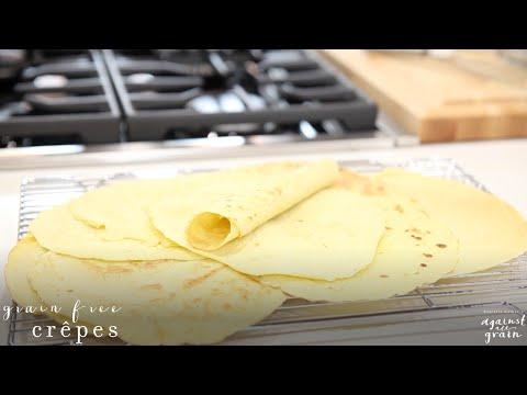 Recipe: Best Grain-free and Gluten Free Crêpes | Danielle Walker