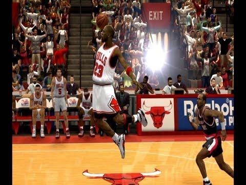 NBA 2k14 | Jordan vs Kobe vs Lebron | 1080pHD MIX