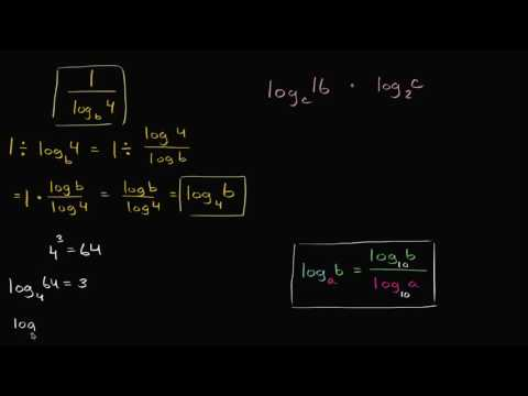 Using the logarithm change of base rule | Mathematics III | High School Math | Khan Academy