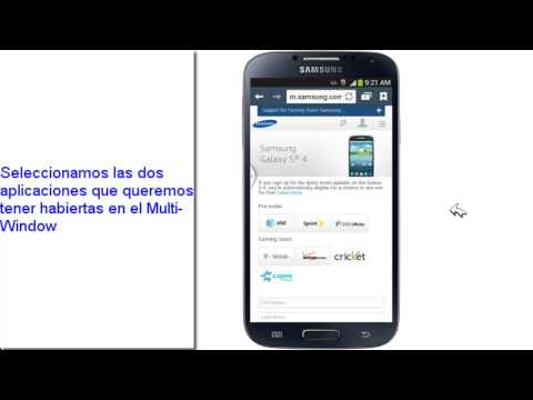 Usar multi window,activar multi window,video tutorial