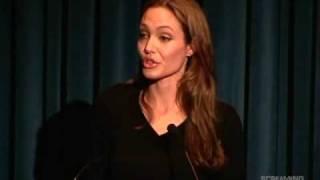 Angelina Jolie speak on World Refugee Day 2009 - Full