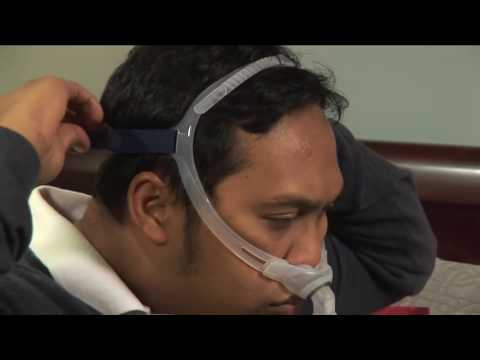 How to fit your ResMed CPAP nasal pillows mask