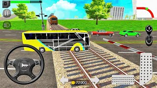 Euro Coach Bus Simulator 2020: City Bus Driving Games - Android Gameplay