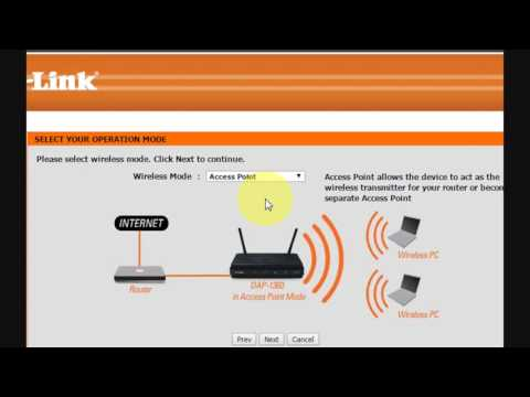 How to Configure D-Link DAP-1360 Wireless N Range Extender