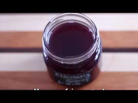 Elderberry Syrup | How to make immune booster drink
