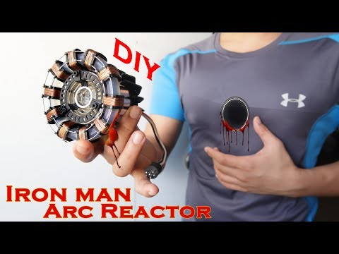 Iron Man ARC REACTOR - STUNNING Hand Craft DIY Using the most Basic materials