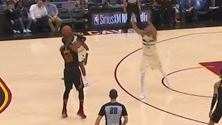 LeBron James Tries To Be Stephen Curry But Doesn