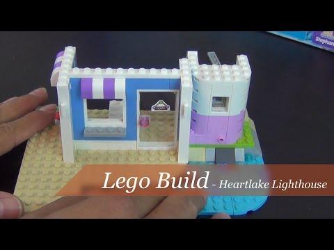 Lego Build - Friends Heartlake Lighthouse Set #41094 - Part 1