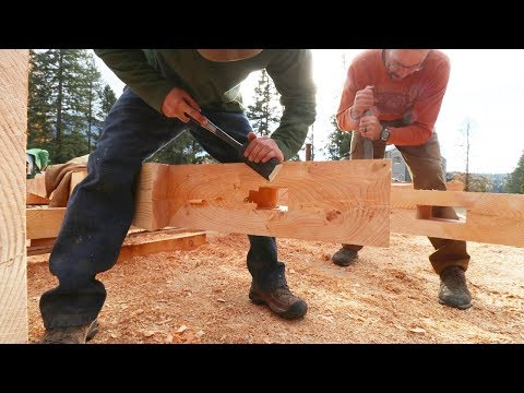 DAY 3: 26 Rookies Build Timber Frame House in 5 Days