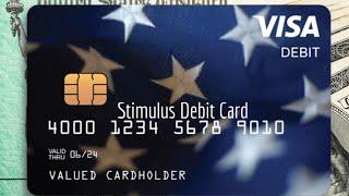 NEW STIMULUS PAYMENT VISA DEBIT CARD! STIMULUS CHECK UPDATE!