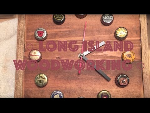 How To Make A Vintage Beer Bottle-Cap Clock -07