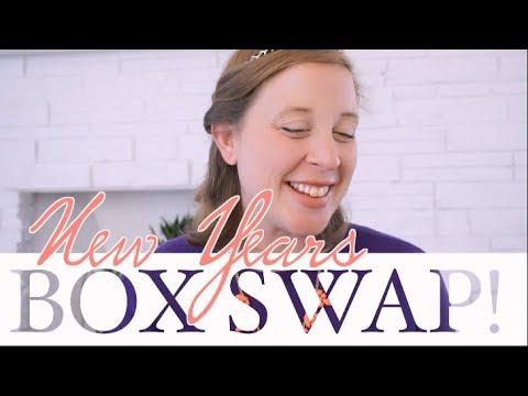 NEW YEARS BOX SWAP with YouTube Moms! | steffiethischapter