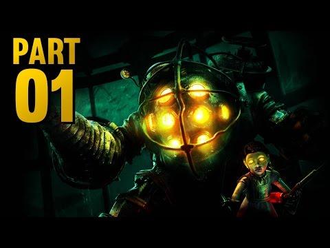 BIOSHOCK REMASTERED Walkthrough - Part 1 - RAPTURE! (Xbox One Gameplay)