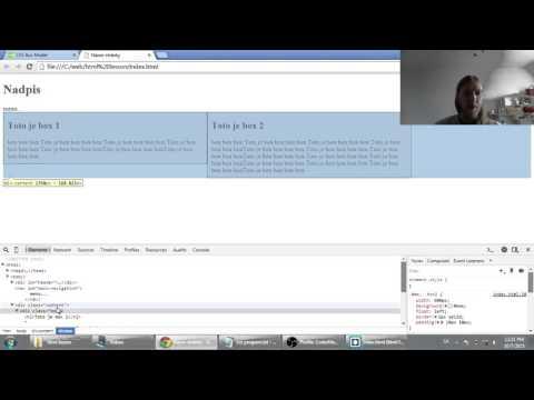 Web developerská škola, časť 43: CSS padding, margin