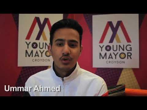 Croydon Young Mayor candidate - Ummar Ahmed