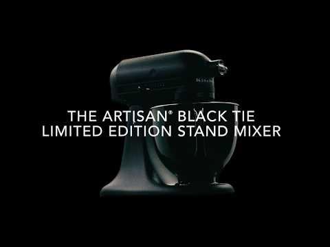 Artisan® Black Tie Limited Edition Stand Mixer | KitchenAid