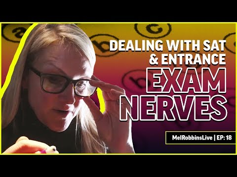 How to deal with exam nerves | MELROBBINSLIVE EP 18