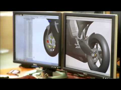 Driving design of the world's fastest electric racing motorcycle with SolidWorks