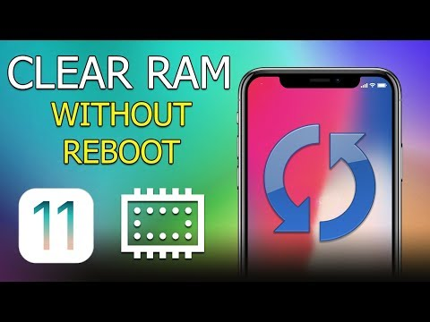 How to Clear RAM on iPhone without Reboot (iOS 11)