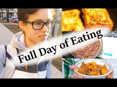 FULL DAY OF EATING #1 | Anorexia Recovery | My Plan Going Forward