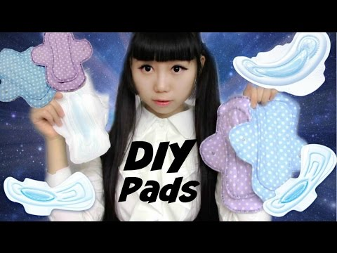 DIY Menstrual/Period Pads    Ecofriendly and more Comfortable