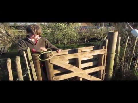Unhinged and free. How to make a gate from a pallet