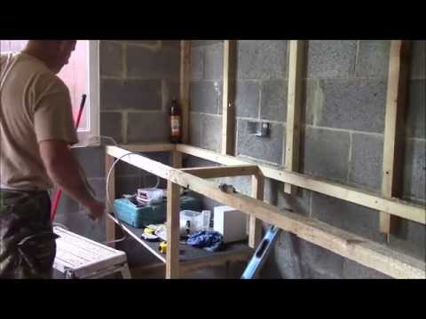how i built my breeze block shed part 3