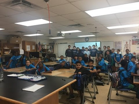 Breakthrough Event at Gulliver Prep - Coding and Biomed
