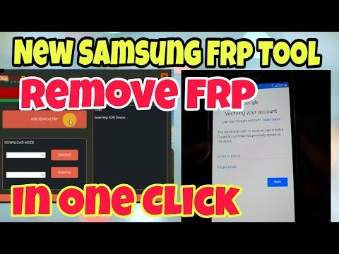 New Samsung Frp Tool 2018 | Frp Remove in One Click - PakVim