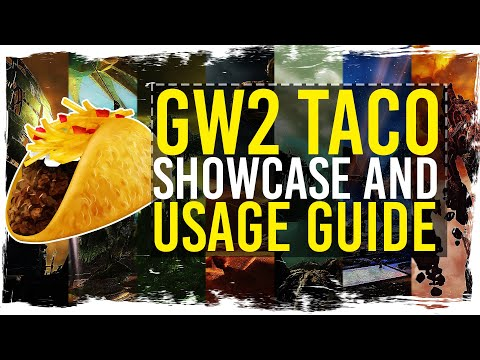 Guild Wars 2 - TacO - Tactical Overlay - Quick Guide / 1080p 50fps