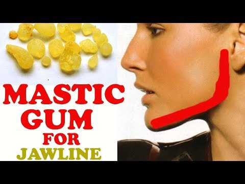 Get Chiseled Jawline With Mastic Gum - Best Exercise To Reduce Face Fat - Beauty Tips