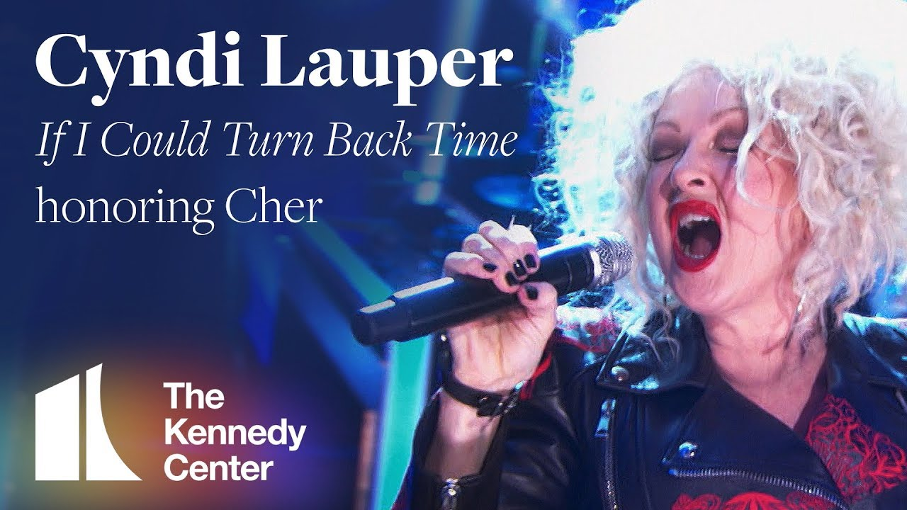 """Cyndi Lauper - """"If I Could Turn Back Time"""" (Cher Tribute)   2018 Kennedy Center Honors"""