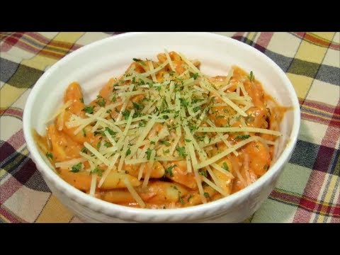 Chicken and Penne Pasta with Creamy Tomato Sauce