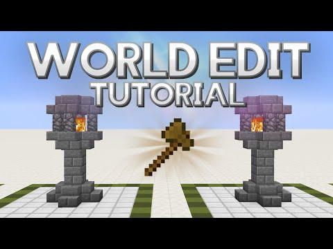 World Edit tutorial 1.12 | Descargar y funciones básicas | Español 2017 | Minecraft