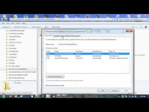 Windows 7.  Steps to Delete Install Folder with long GUID name.
